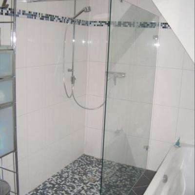 Duschwand